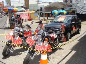 O carro, o prêmio mais cobiçado, ficou para um médico da cidade de Piripá.